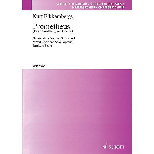 Hal Leonard Prometheus (SATB and Soprano Solo) SATB Chorus and Solo Composed by Kurt Bikkembergs