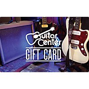 Guitar Center Promo Gift Card