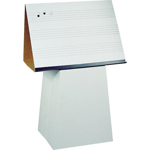 Prop-It Prop-It Dry Erase Music Staff Easel and Pedestal