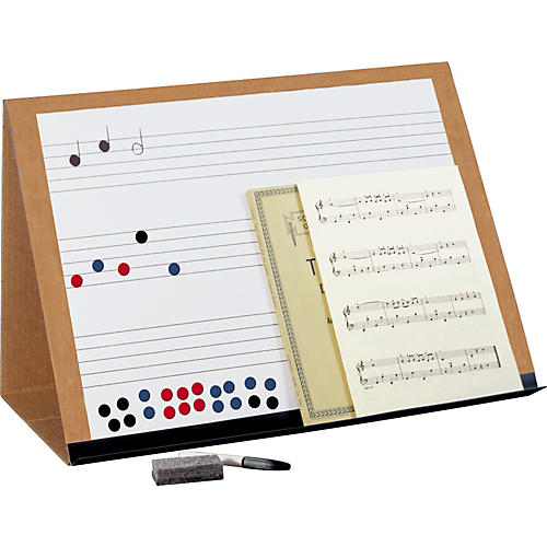 Prop-It Prop-It Magnetic Dry Erase Music Staff Easel-thumbnail