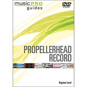 Hal Leonard Propellerhead Record Beginner Music Pro Guide Dvd by Hal Leonard