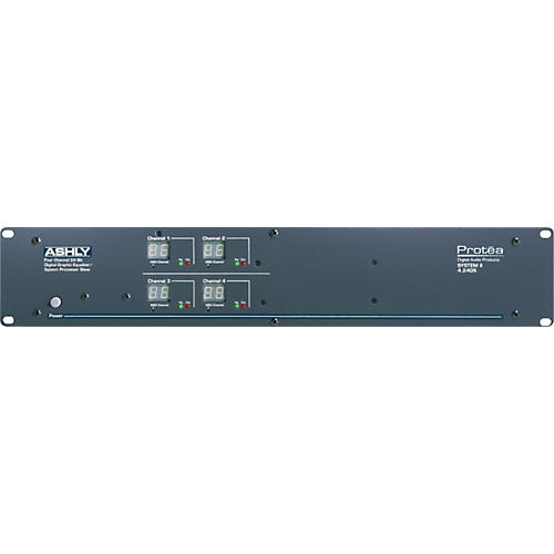 Ashly Audio Protea 4.24GS 4-Channel Graphic EQ Sys Processor
