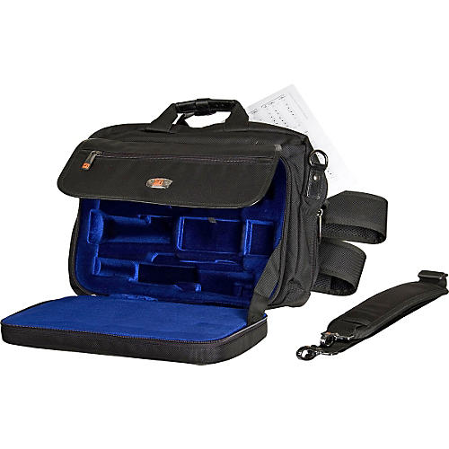 Protec Protec LUX Oboe Case with Sheet Music Messenger Bag-thumbnail