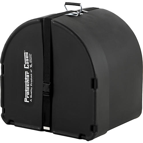 Protechtor Cases Protechtor Classic Bass Drum Case, Foam-lined 22 x 18 in. Black