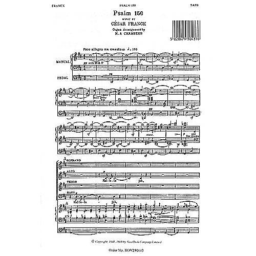Novello Psalm 150 SATB Composed by Cesar Franck Arranged by H.A. Chambers
