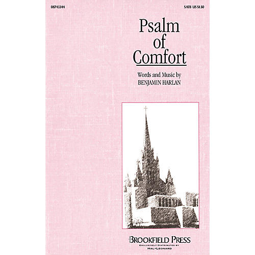 Brookfield Psalm of Comfort (SATB) SATB composed by Benjamin Harlan