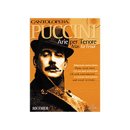 Hal Leonard Puccini Arias for Tenor