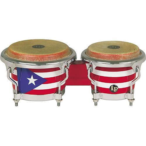 LP Puerto Rican Flag Mini-Bongos-thumbnail