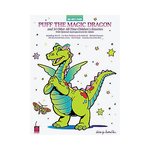 Hal Leonard Puff the Magic Dragon and 54 Other All-Time Children's Favorites Book-thumbnail