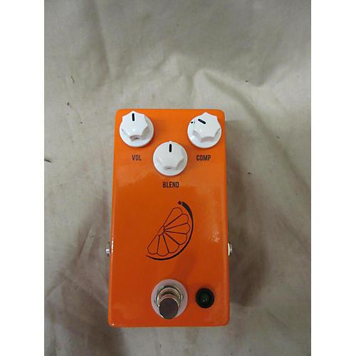 JHS Pedals Pulp 'N' Peel Compressor Orange Effect Pedal
