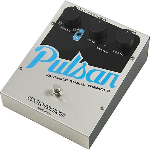 Electro-Harmonix Pulsar Variable Shape Tremolo Pedal
