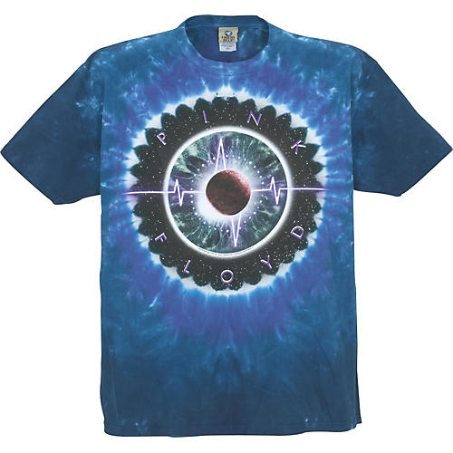 Pink Floyd Pulse Concentric T-Shirt Blue M-thumbnail