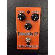 Stomp Under Foot Pumpkin Pi Effect Pedal