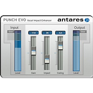 Antares Punch EVO VST  AU  RTAS Software Download by Antares