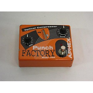 Pre-owned Aphex Punch Factory Optical Compressor Effect Pedal by Aphex