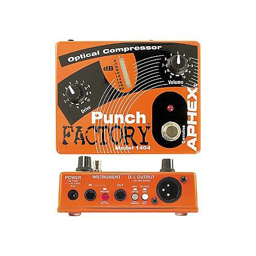 Aphex Punch Factory Optical Compressor
