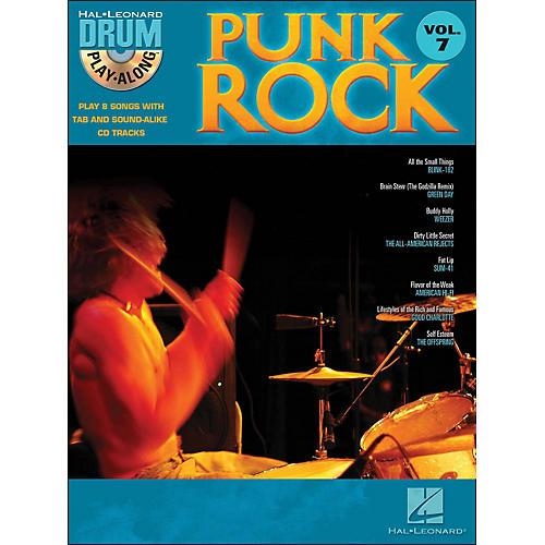 Hal Leonard Punk Rock Drum Play-Along Volume 7 Book/CD-thumbnail