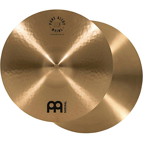 Meinl Pure Alloy Traditional Medium Hi-Hat Cymbal Pair
