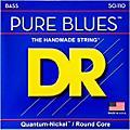 DR Strings Pure Blues Heavy 4-String Bass Strings (50-110) thumbnail