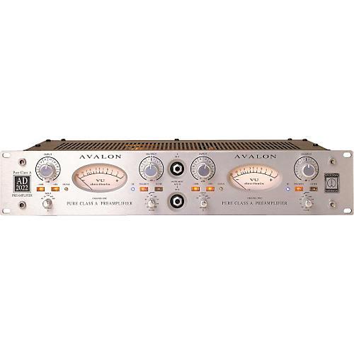 Avalon Pure Class A Dual  Mono Microphone Preamplifier & DI Silver