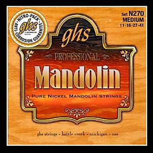 GHS Pure Nickel Mandolin Medium Strings by GHS