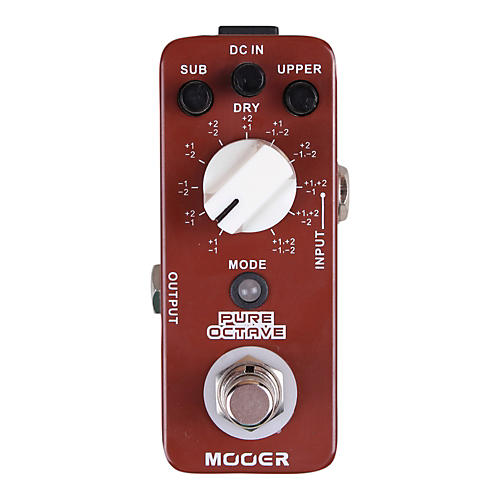 Mooer Pure Octave Guitar Effects Pedal