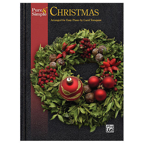 Alfred Pure & Simple Christmas Easy Piano Book