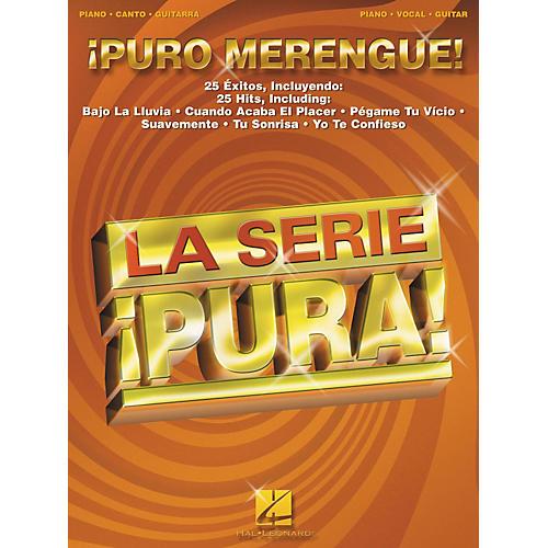 Hal Leonard Puro Merengue Piano/Vocal/Guitar Songbook-thumbnail