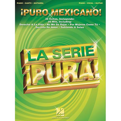 Hal Leonard Puro Mexicano! Piano, Vocal, Guitar Songbook