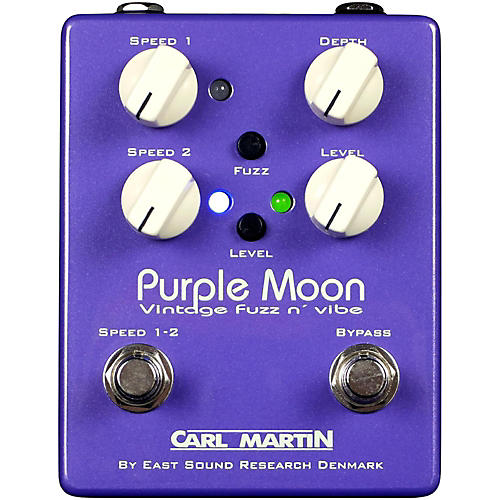 Carl Martin Purple Moon Fuzz Guitar Pedal-thumbnail