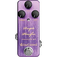 One Control Purple Plexifier Distortion Effects Pedal