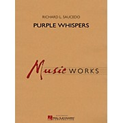 Hal Leonard Purple Whispers - MusicWorks Grade 5 Concert Band