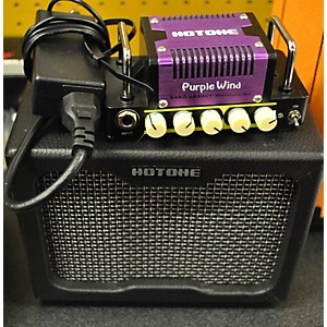 Pre-owned Hotone Effects Purple Wind Guitar Mini Stack Battery Powered Amp by