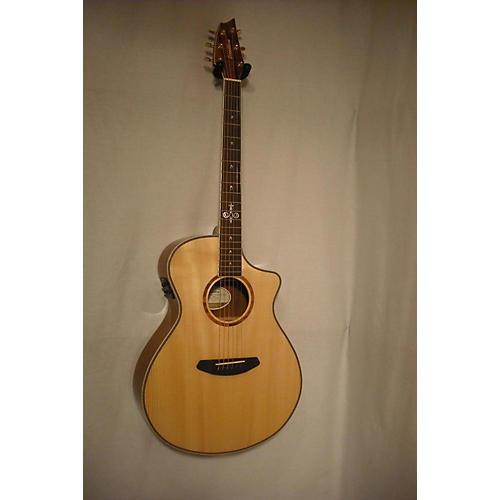 used breedlove pursuit concert 25th anniversary model acoustic electric guitar natural koa. Black Bedroom Furniture Sets. Home Design Ideas
