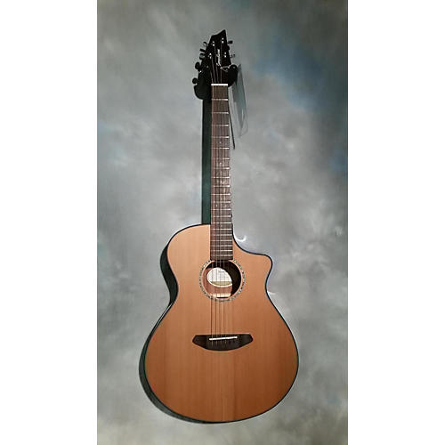 Breedlove Pursuit Concert Acoustic Electric Guitar Natural