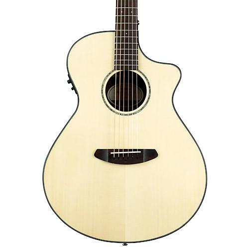 Breedlove Pursuit Concert Ebony Acoustic-Electric Guitar Natural