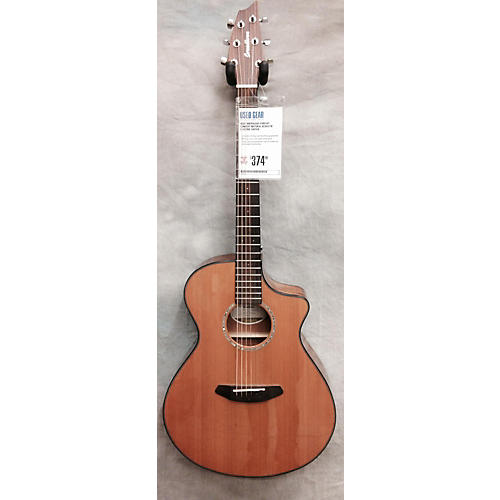Breedlove Pursuit Concert Natural Acoustic Electric Guitar