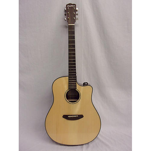 Breedlove Pursuit Dreadnought Ebony Acoustic Electric Guitar-thumbnail