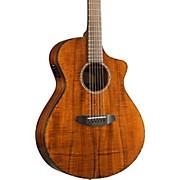 Breedlove Pursuit Exotic Concert CE Koa-Koa Acoustic-Electric Guitar