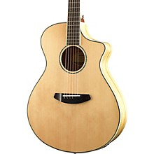 Breedlove Pursuit Exotic Concert CE Sitka Spruce - Myrtlewood Acoustic-Electric Guitar Level 1 Gloss Natural