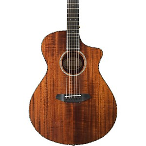 Click here to buy Breedlove Pursuit Exotic Concert with Koa Top Acoustic-Electric Guitar by Breedlove.