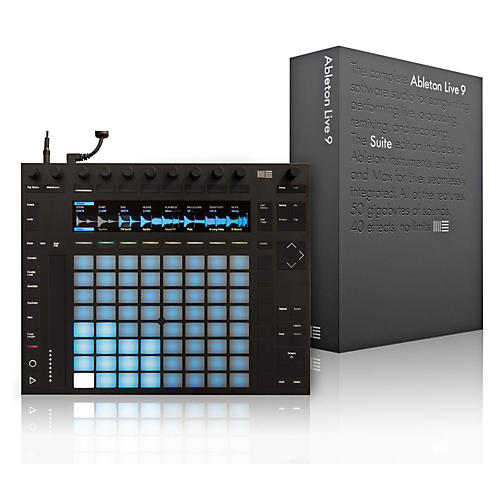 Ableton Push 2 and Live 9.5 Suite Bundle