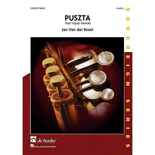 De Haske Music Puszta (Four Gipsy Dances) Concert Band Composed by Jan Van der Roost