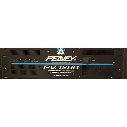 Peavey Pv1200 Power Amp