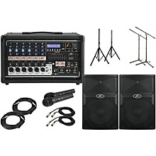 """Peavey Pvi6500 with PVx 15 15"""" Speaker PA Package"""