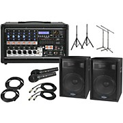 "Peavey Pvi6500 with S715 15"" Speaker PA Package"