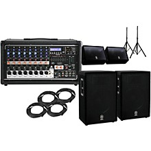 """Peavey Pvi8500 A15 15"""" Speaker PA Package with Monitors"""