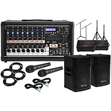 """Peavey Pvi8500 with KPX115 15"""" Speaker and 10"""" Monitors Package"""