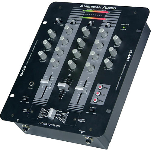 American Audio Q-D6 3-Channel DJ Mixer-thumbnail