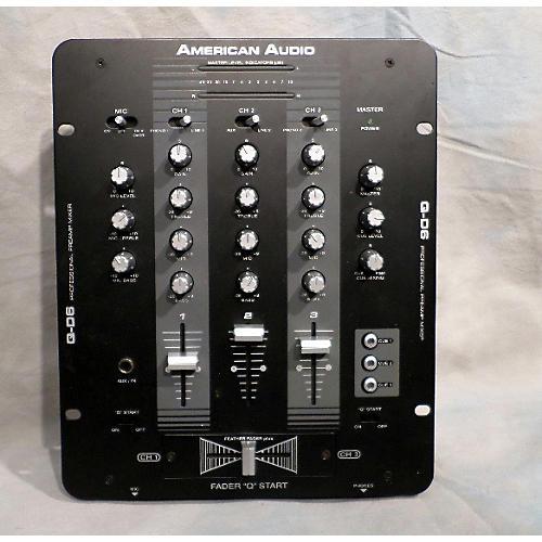 American Audio Q-D6 DJ Mixer
